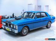 1969 Ford Falcon XY GT Electric Blue Manual 5sp M Sedan for Sale