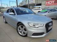 2011 Audi A6 4G Silver 7 Sports Automatic Dual Clutch Sedan for Sale