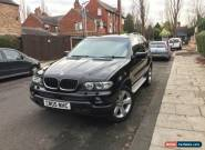 2005 BMW X5 SPORT EXCLUSIVE AUTO BLACK M SPORT for Sale