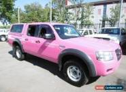 2008 Ford Ranger PJ 07 Upgrade XL (4x2) Pink Manual 5sp M Dual Cab Pick-up for Sale