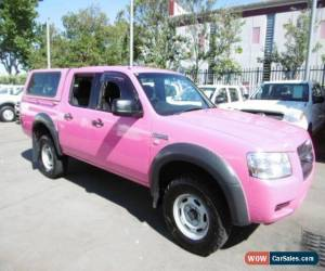 Classic 2008 Ford Ranger PJ 07 Upgrade XL (4x2) Pink Manual 5sp M Dual Cab Pick-up for Sale