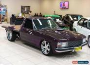 1980 Holden WB V8 Purple Automatic A Utility for Sale
