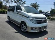 2002 Nissan Elgrand E51 XL White Automatic 5sp A Wagon for Sale