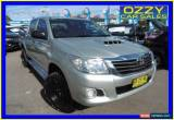Classic 2012 Toyota Hilux KUN26R MY12 SR (4x4) Silver Automatic 4sp A Dual Cab Pick-up for Sale