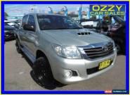 2012 Toyota Hilux KUN26R MY12 SR (4x4) Silver Automatic 4sp A Dual Cab Pick-up for Sale