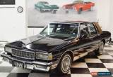 Classic 1987 Chevrolet Caprice CLASSIC LS BROUGHAM 49K MILE SURVIVOR W/LEATHER for Sale