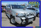 Classic 2008 Toyota Hilux KUN26R 08 Upgrade SR5 (4x4) Silver Manual 5sp M for Sale
