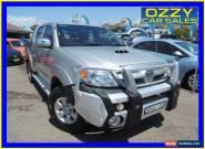 2008 Toyota Hilux KUN26R 08 Upgrade SR5 (4x4) Silver Manual 5sp M for Sale