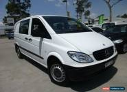 2007 Mercedes-Benz Vito 639 MY07 115CDI White Automatic 5sp A Van for Sale