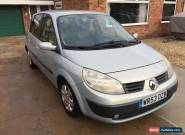 2004 RENAULT SCENIC EXPRESSION 16V SILVER for Sale