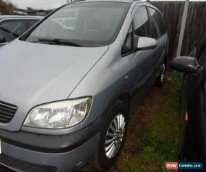 Classic 2003 VAUXHALL ZAFIRA COMFORT 1.8 16V SILVER GREY for Sale