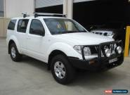 9/2005 NISSAN PATHFINDER ST 7 SEATER WAGON, 2.5Lt Turbo Diesel Motor for Sale