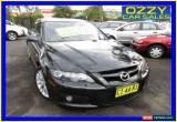 Classic 2006 Mazda 6 GG MPS (Leather) Black Manual 6sp M Sedan for Sale