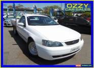 2003 Ford Falcon BA XL White Automatic 4sp A Cab Chassis for Sale
