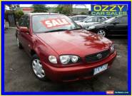 2001 Toyota Corolla ZZE122R Ascent Maroon Manual 5sp M Sedan for Sale
