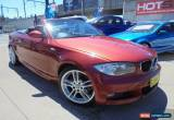 Classic 2008 BMW 120I E88 Red Automatic 6sp A Convertible for Sale