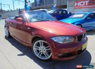 2008 BMW 120I E88 Red Automatic 6sp A Convertible for Sale