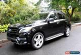 Classic Mercedes-Benz: M-Class ML350 BlueTEC 4MATIC for Sale