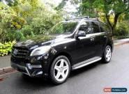 Mercedes-Benz: M-Class ML350 BlueTEC 4MATIC for Sale