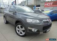 2011 Holden Captiva CG Series II 7 LX Grey Automatic A Wagon for Sale
