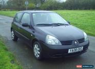2008 RENAULT CLIO 1.5 TD DIESEL 12 MONTHS M.O.T FORD VAUXHALL CITROEN FIAT TYRES for Sale