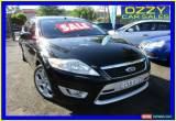 Classic 2008 Ford Mondeo MA XR5 Turbo Black Manual 6sp M Hatchback for Sale