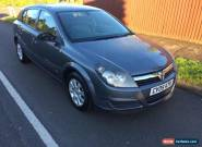 2005 VAUXHALL ASTRA CLUB TWINPORT 1.6 spares or repair  for Sale
