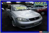 Classic 2006 Holden Viva JF Equipe Silver Manual 5sp M Hatchback for Sale