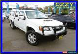 Classic 2011 Holden Colorado RC MY11 LX-R (4x4) White Automatic 4sp A Crewcab for Sale