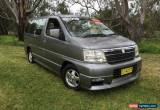 Classic 2000 Nissan Elgrand E50 CAMPERVAN Silver Automatic 4sp A Wagon for Sale