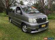 2000 Nissan Elgrand E50 CAMPERVAN Silver Automatic 4sp A Wagon for Sale