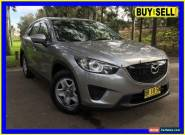 2012 Mazda CX-5 Maxx (4x2) Silver Automatic 6sp A Wagon for Sale