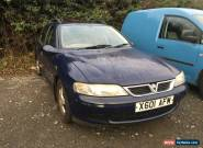 2000 VAUXHALL VECTRA LS DTI BLUE 2.0l Diesel for Sale