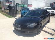 2007 Mazda 3 BK MY06 Upgrade Neo Black Automatic 4sp A Sedan for Sale