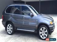 BMW X5 E53 V8 4WD Sports Wagon for Sale