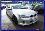 Classic 2009 Holden Commodore VE MY09.5 SS-V Silver Manual 6sp M Sedan for Sale