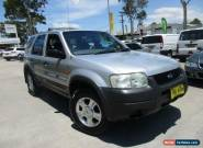 2003 Ford Escape BA XLS Silver Automatic 4sp A Wagon for Sale