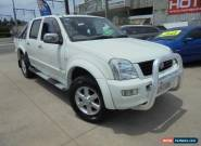 2005 Holden Rodeo RA MY05.5 LT White Manual 5sp M 4D Utility for Sale