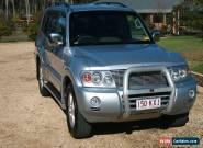 2006-Mitsubishi-Pajero-NP-VR-X-LWB-4x4--Auto Silver 5sp A Wagon for Sale