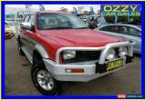 Classic 1999 Mitsubishi Triton MK GLS (4x4) Red Manual 5sp M Dual Cab Utility for Sale