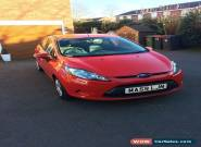 Ford Fiesta 1.6 TDCI Eco (5 Door/Red/Diesel) for Sale