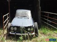 Alfa Romeo 2000 Berlina manual for Sale
