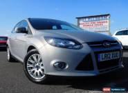 2012 12 FORD FOCUS 1.6 TITANIUM 5DR AUTO 124 BHP for Sale