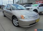 2002 Honda Civic 7th Gen MY2002 GLi Gold Automatic 4sp A Sedan for Sale