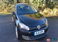 2011 VOLKSWAGEN GOLF MATCH 1.6 TDI BLUETECH BLACK for Sale