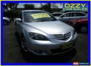 2005 Mazda 3 BK SP23 Silver Automatic 4sp A Hatchback for Sale