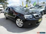 2008 Holden Caprice WM Black Automatic 5sp A Sedan for Sale