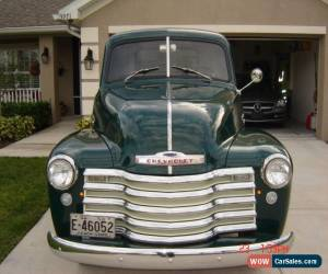 Classic 1950 Chevrolet Other Pickups deluxe for Sale