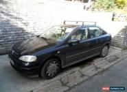 2003 VAUXHALL ASTRA CLUB 8V BLACK for Sale
