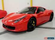 2011 Ferrari 458 for Sale